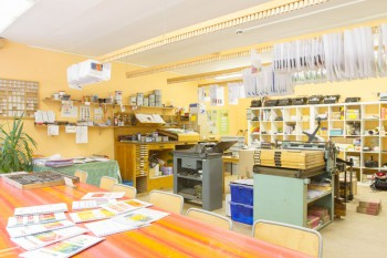 Kinderdruckwerkstatt